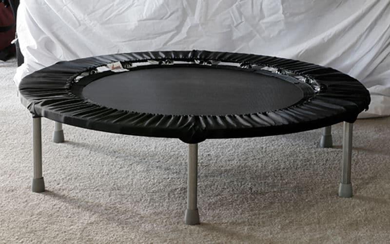 mini rebounder trampoline