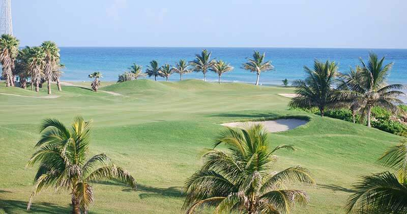 beach golf course