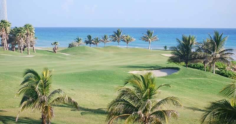 beach golf course