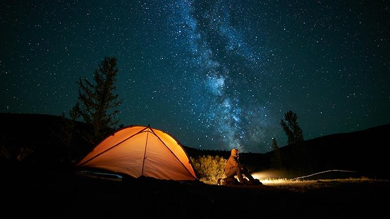 stargazing tent